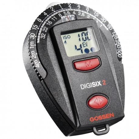 Exposure Meters - Gossen Digisix Exposure Meter - quick order from manufacturer
