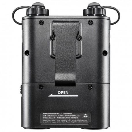 Akumulatori zibspuldzēm - walimex pro Powerblock Power Porta black f Canon 19535 - ātri pasūtīt no ražotāja