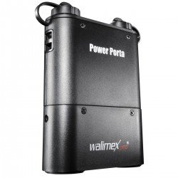 Flash Batteries - walimex pro Power Porta black - quick order from manufacturer