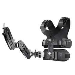 Video stabilizatori - walimex pro Vest StabyBalance II incl. Spring Arms 19549 - ātri pasūtīt no ražotāja