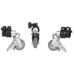 Turētāji - Falcon Eyes Tripod Wheels PCA-25M 3st. 25 mm - ātri pasūtīt no ražotāja