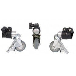 Tripod accessories - Falcon Eyes Tripod Wheels PCA-19M 3st. 19 mm - quick order from manufacturer