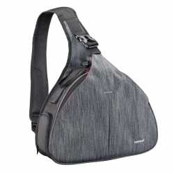 Shoulder Bags - mantona camera bag triangel grey - quick order from manufacturer