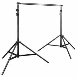 Background holders - walimex pro TELE Background System, 225-400cm - buy today in store and with delivery