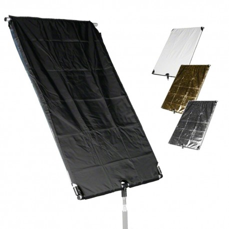 Reflector Panels - walimex 4in1 Reflector Board, 60x90cm - buy today in store and with delivery