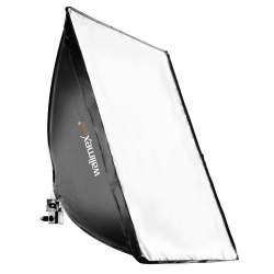 Fluorescējošās - walimex pro Daylight 250 with Softbox, 40x60cm 16237 - ātri pasūtīt no ražotāja