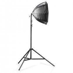 Fluorescējošās - walimex Daylight Set 250+Octagon Softbox, 55cm 16300 - ātri pasūtīt no ražotāja