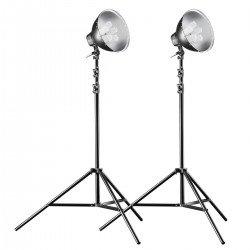 Fluorescējošās - walimex pro Daylight Set 600/600 16319 - ātri pasūtīt no ražotāja