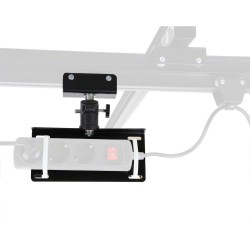 Ceiling Rail Systems - walimex Multiplug Bracket for Ceiling Rail System - quick order from manufacturer