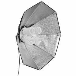 Fluorescējošās - walimex Daylight 1000 with Octagon Softbox 60cm 17012 - ātri pasūtīt no ražotāja