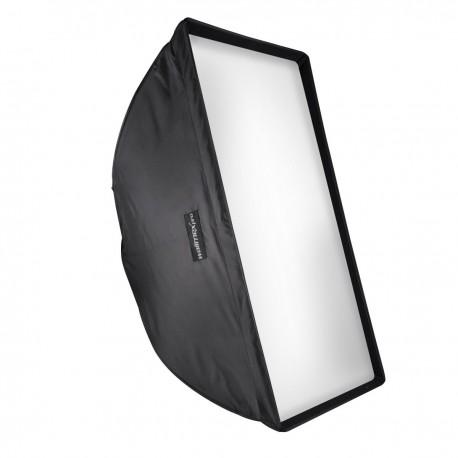 Softboksi - walimex pro easy Umbrella Softbox 70x100cm 17131 - perc šodien veikalā un ar piegādi