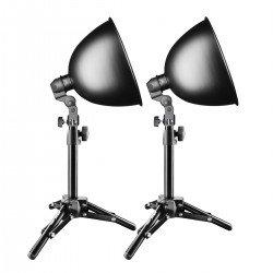 Fluorescējošās - walimex Studio Set Daylight 150/150 17439 - ātri pasūtīt no ražotāja