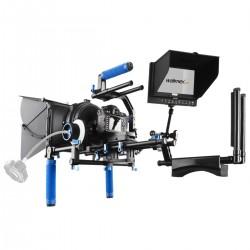 Plecu turētāji / Rig - walimex pro Video Rig Full Set, 5 pcs. Pro. II 18720 - ātri pasūtīt no ražotāja