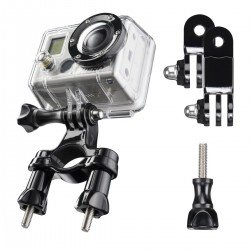 Action camera mounts - mantona bicycle mounting incl. angle piece - quick order from manufacturer