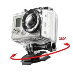 Stiprinājumi - mantona 360 mounting plate 3M for GoPro 20237 - ātri pasūtīt no ražotāja