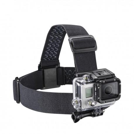 Stiprinājumi action kamerām - mantona Helmet strap for GoPro 20243 - perc šodien veikalā un ar piegādi