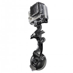 Stiprinājumi - mantona suction cup mounting for GoPro - buy today in store and with delivery