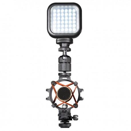 Mikrofonu aksesuāri - walimex pro microphone holder+ accessories rails 20316 - ātri pasūtīt no ražotāja