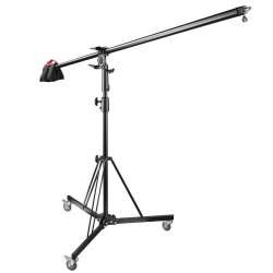 Стойки журавли - walimex pro Wheeled Boom Stand with Counterweight - купить сегодня в магазине и с доставкой