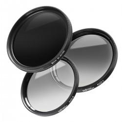 Objektīvu filtri - walimex pro grey filter complete set 55mm 20423 - ātri pasūtīt no ražotāja
