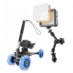 Action kameru aksesuāri - walimex pro Dolly Set Basic GoPro 20448 - ātri pasūtīt no ražotāja