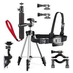 GoPro Aksesuāri - mantona Family Set Pro for GoPro 20451 - ātri pasūtīt no ražotāja