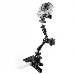 Stiprinājumi action kamerām - mantona GoPro Clamp Set I 20467 - ātri pasūtīt no ražotāja