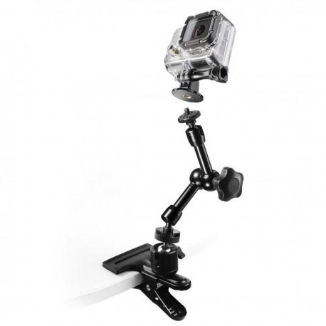 Action kameru aksesuāri - mantona GoPro Clamp Set I 20467 - ātri pasūtīt no ražotāja