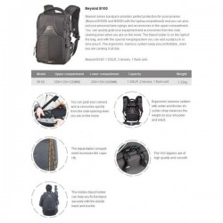 Backpacks - Benro Beyond B100 foto soma - buy today in store and with delivery