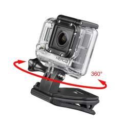 Stiprinājumi - mantona fastening clamp 360 for GoPro 20553 - ātri pasūtīt no ražotāja