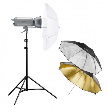 Комплекты студийных вспышек - walimex pro VC Set Starter M 1000 DS/RS - быстрый заказ от производителя