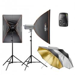 Studio flash kits - walimex pro VC Set Classic L 6/4 2SB2RS+ - quick order from manufacturer