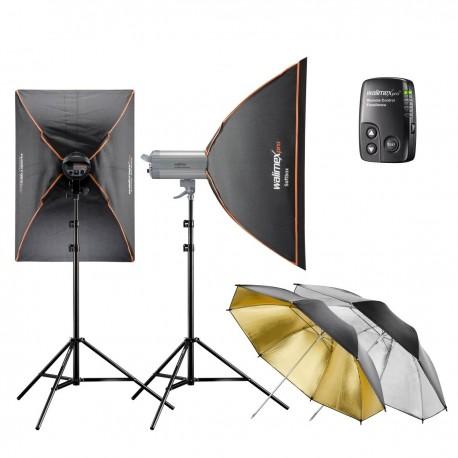 Комплекты студийных вспышек - walimex pro VC Set Classic L 6/6 2SB2RS+ - быстрый заказ от производителя