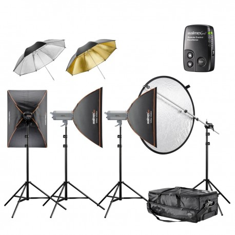 Studio flash kits - walimex pro VC Set Performer 3/3/4 3SB2RS+ - quick order from manufacturer