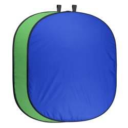 Foto foni - walimex pro Foldable Background 150 x 210 blue/green 20731 - perc šodien veikalā un ar piegādi