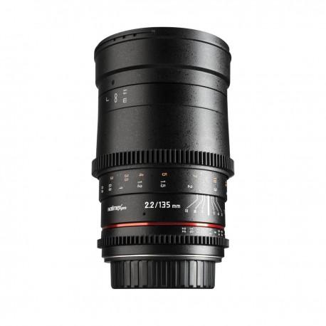 Объективы - walimex pro 135/ 2,2 Video DSLR Canon EF - быстрый заказ от производителя
