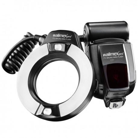 Zibspuldzes - walimex pro TTL ringflash zibspuldze Canon 20799 - ātri pasūtīt no ražotāja