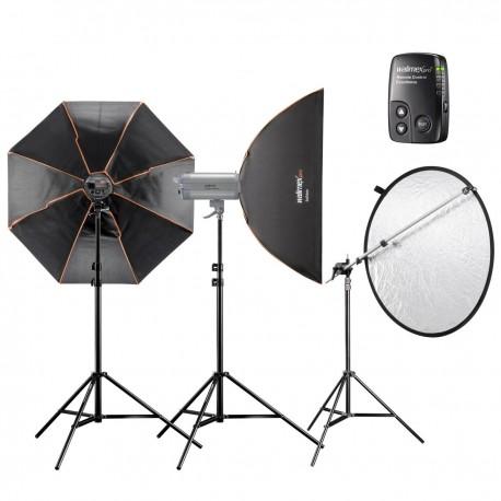 Studio flash kits - walimex pro VC Set Advance 3/3 1SL1OG+ - quick order from manufacturer