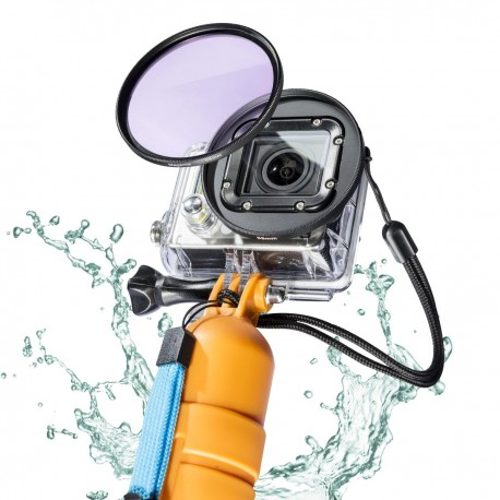 Accessories for Action Cameras - mantona GoPro underwater filter set 58mm - quick order from manufacturer
