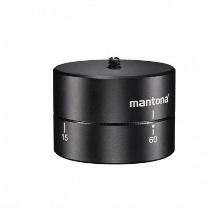 Action kameru aksesuāri - mantona Turnaround 360 tripod head for GoPro 20867 - perc šodien veikalā un ar piegādi
