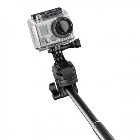 Viedtālruņiem - mantona Monopod Selfy Report Set black for iOS - быстрый заказ от производителя