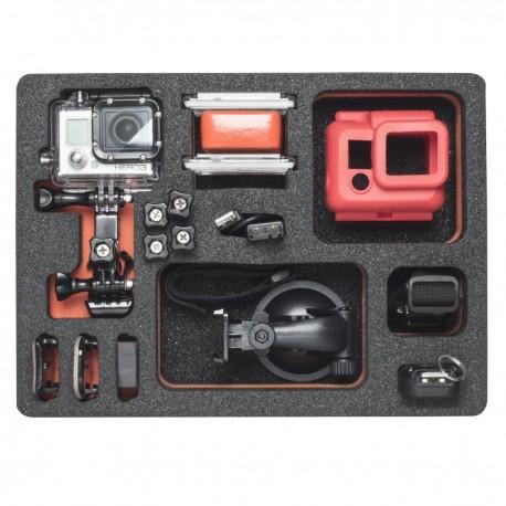 Koferi - mantona foam plastic inlay GoPro case M 20999 - ātri pasūtīt no ražotāja