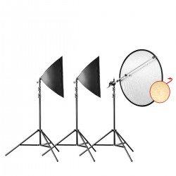 Fluorescējošās - walimex pro Daylight 250 Portrait Basic 21009 - ātri pasūtīt no ražotāja