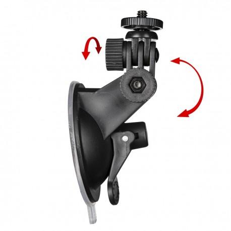 Stiprinājumi action kamerām - mantona Backdoor with hole for GoPro Hero 4/3+ 21034 - ātri pasūtīt no ražotāja