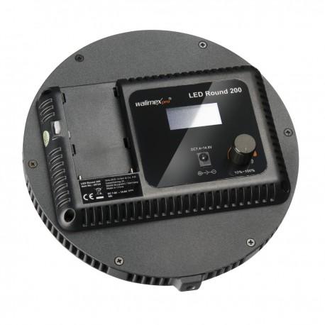LED панели - walimex pro LED Round 200 Set - быстрый заказ от производителя