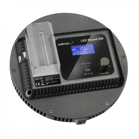 Video LED - walimex pro LED Round 200 Set XL - quick order from manufacturer