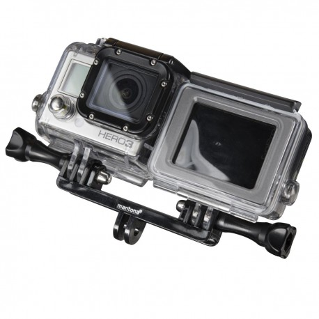 Action camera mounts - mantona Double fixation adapter for GoPro - quick order from manufacturer