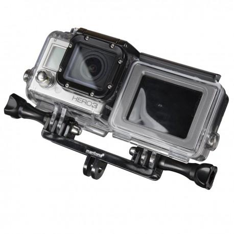 Stiprinājumi action kamerām - mantona Silicone Case Underwater 4/3+ 21051 - ātri pasūtīt no ražotāja