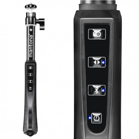 Съёмка на телефоны и смартфоны - mantona selfie stick XL with remote control - быстрый заказ от производителя