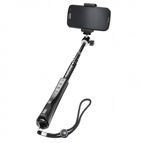 For smartphones - mantona selfie stick XL with remote control - quick order from manufacturer